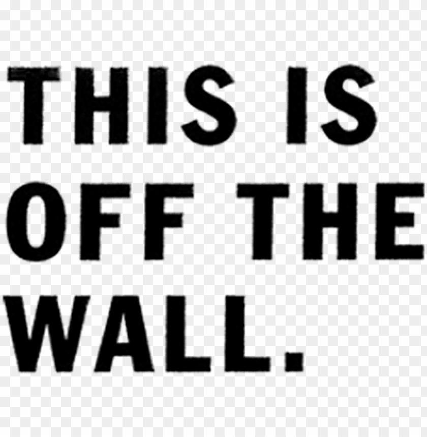 lo último los Angeles últimos lanzamientos vans off the wall logo png - vans this is off the wall PNG image ...