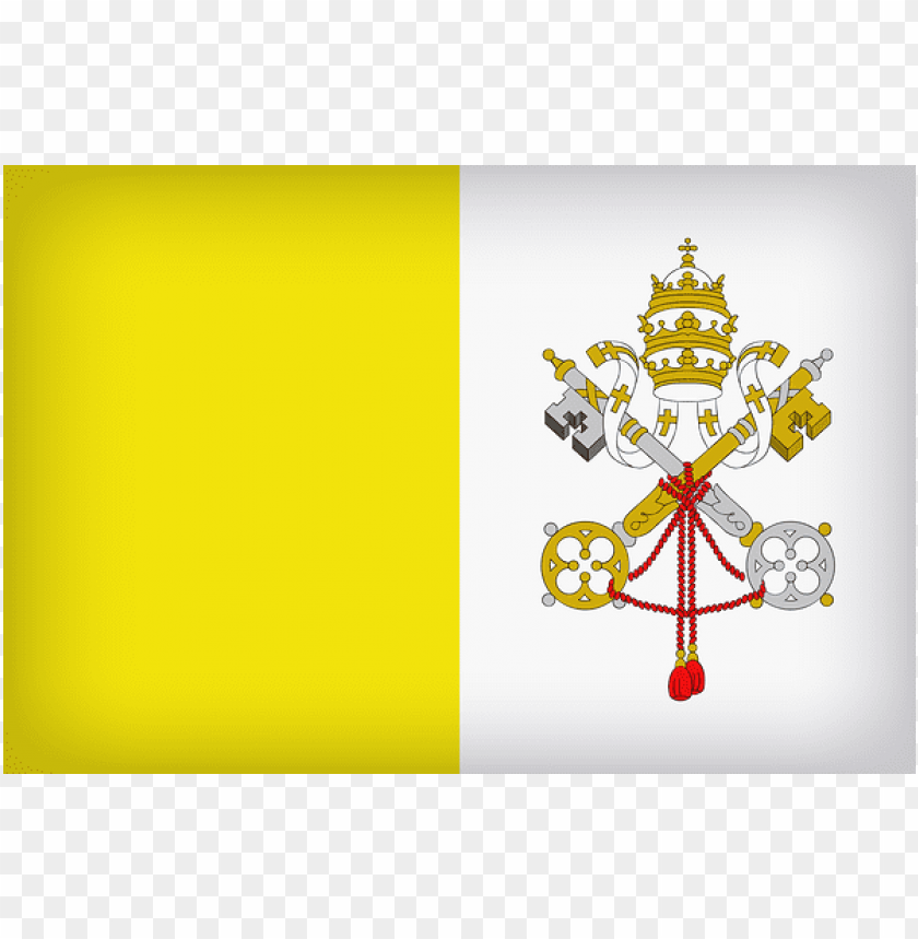 free PNG Download vatican city large flag clipart png photo   PNG images transparent