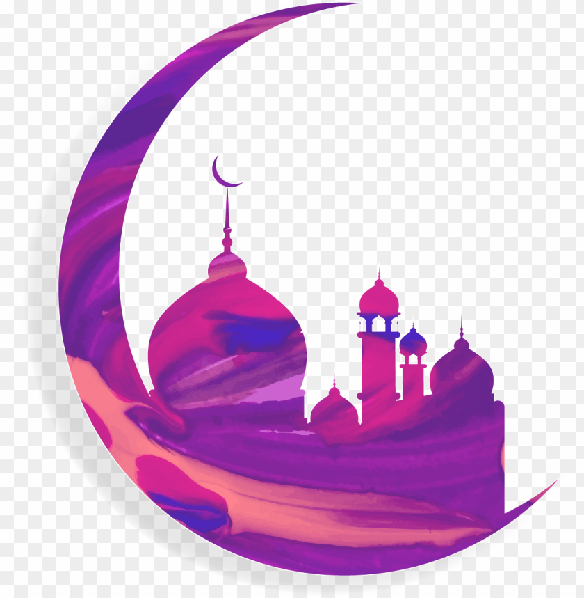 free PNG vector black and white library mosque vector moon - eid mubarak 2018 for instagram PNG image with transparent background PNG images transparent