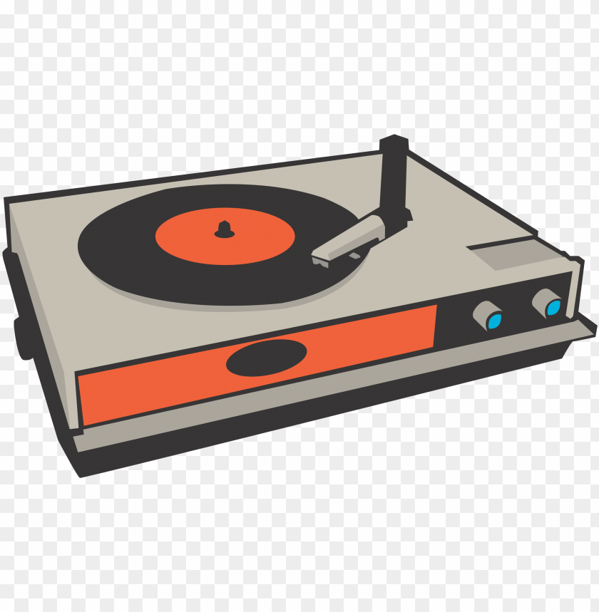 vector black and white stock record player clipart png image with transparent background toppng record player clipart png image with
