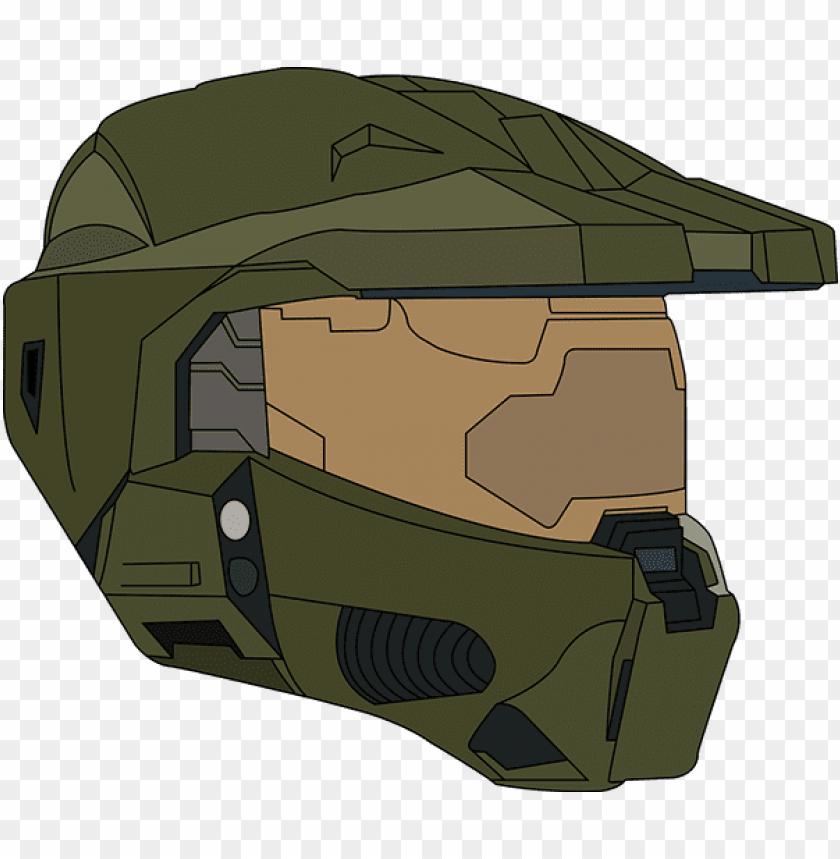 Vector Halo Helmet Png Royalty Free Master Chief No