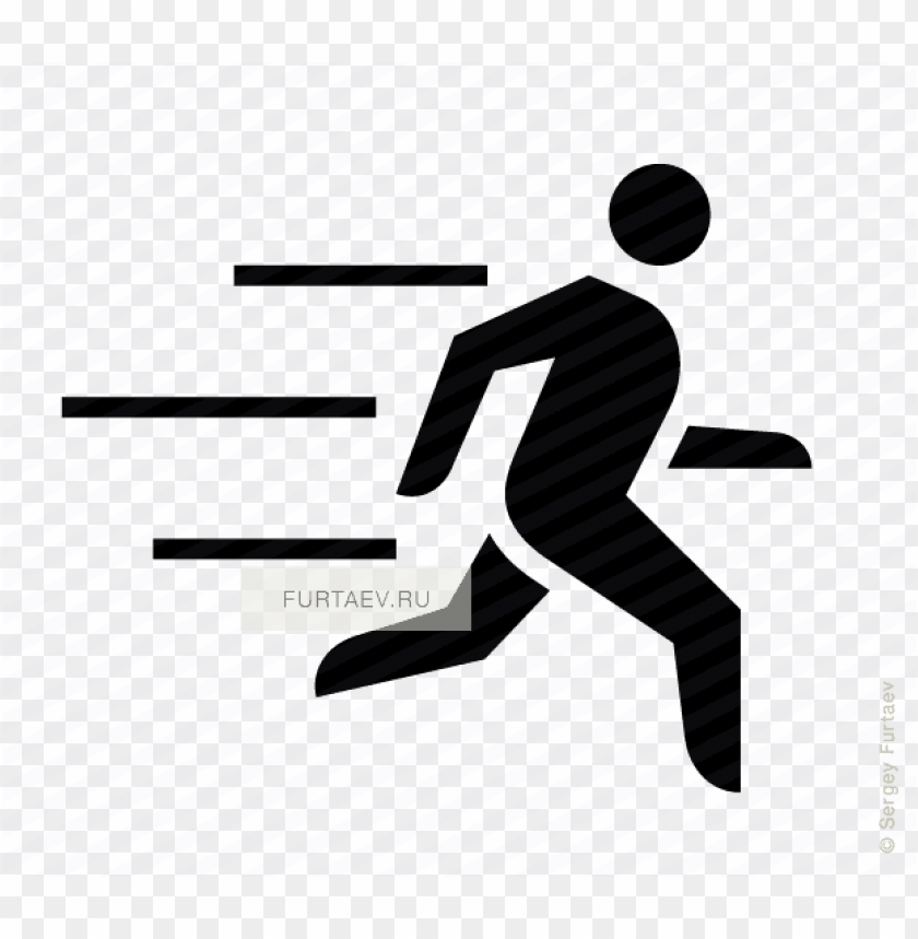 free PNG vector icon of running male person with motion lines - fast motion icon png - Free PNG Images PNG images transparent