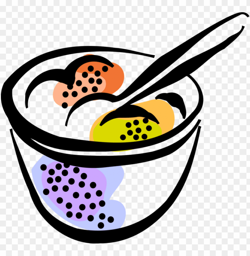 free PNG vector illustration of bowl of ice cream gelato frozen - vector illustration of bowl of ice cream gelato frozen PNG image with transparent background PNG images transparent