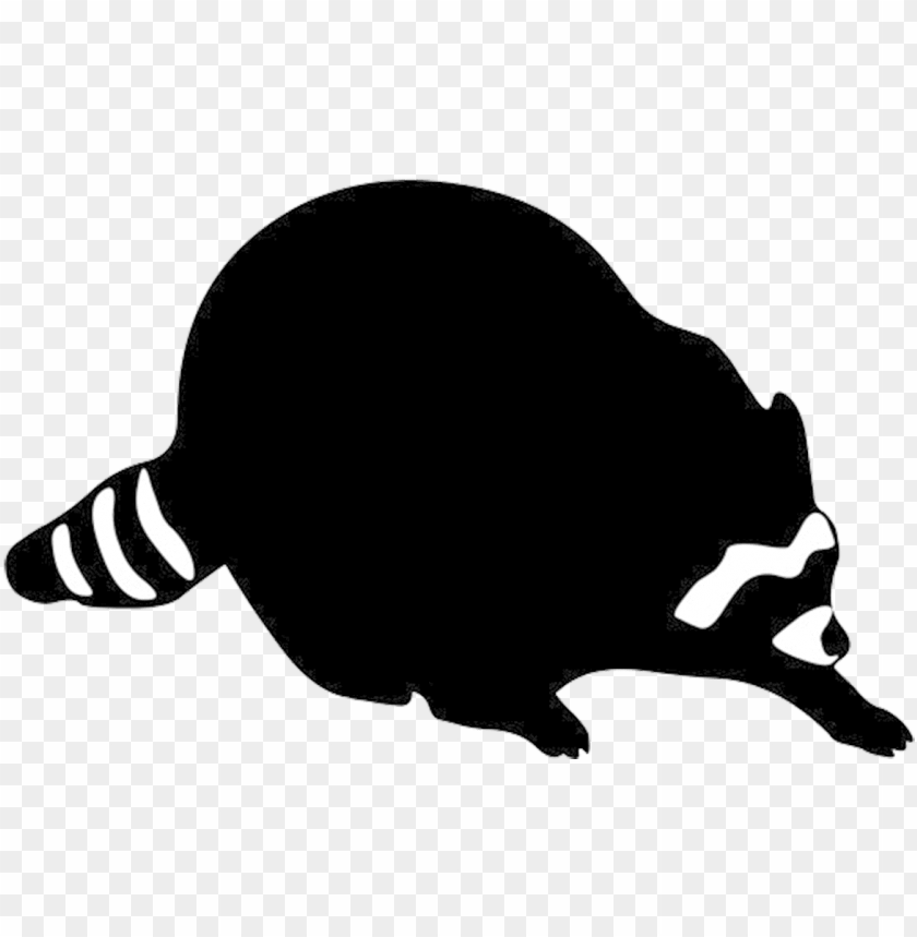 free PNG vector library library raccoon face clipart - raccoon silhouette clip art PNG image with transparent background PNG images transparent