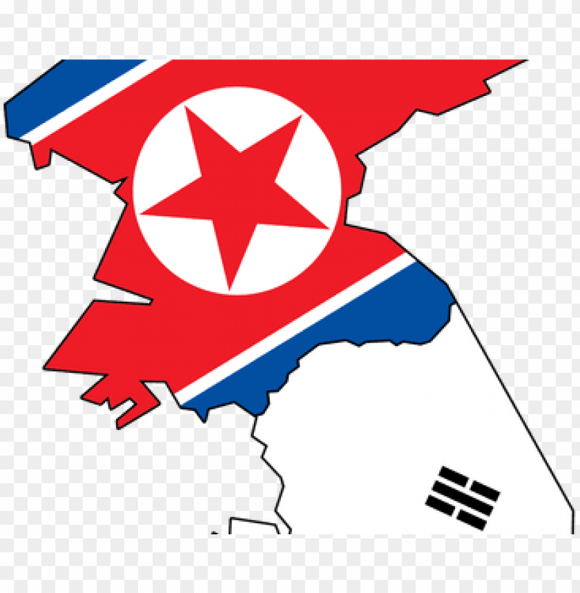 free PNG vector royalty free download map with flag k pictures - north korea flag ma PNG image with transparent background PNG images transparent