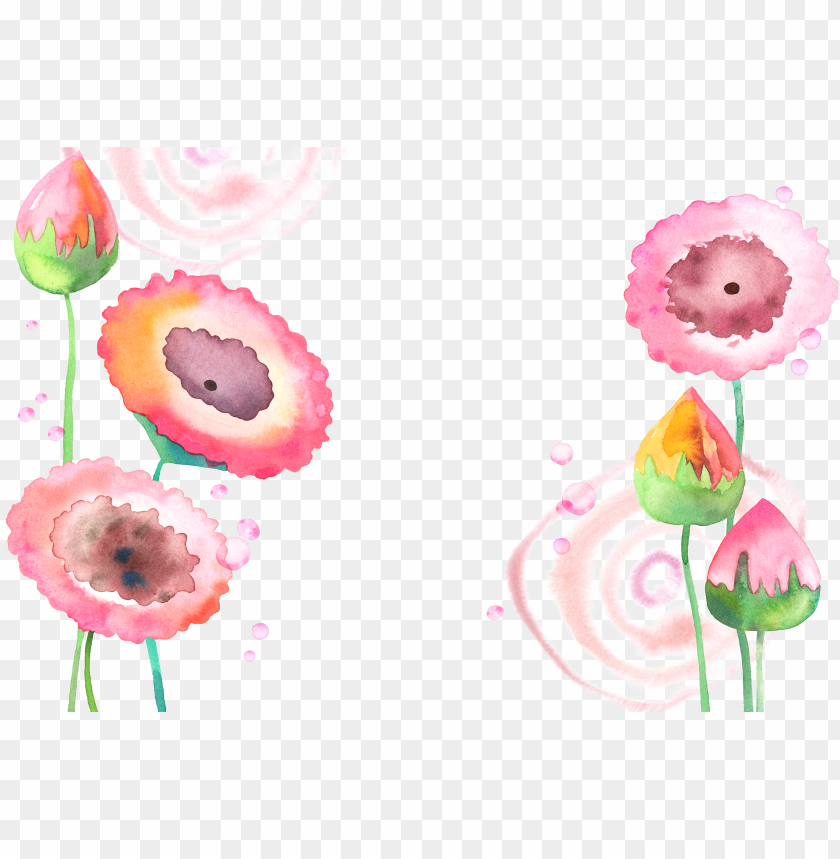 free PNG vector royalty free library flowers painting lotus - watercolor flower watercolour PNG image with transparent background PNG images transparent