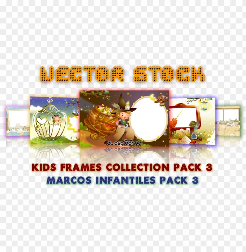 free PNG vector stock kids frames collection pack 3 marcos infantiles - fête de la musique PNG image with transparent background PNG images transparent