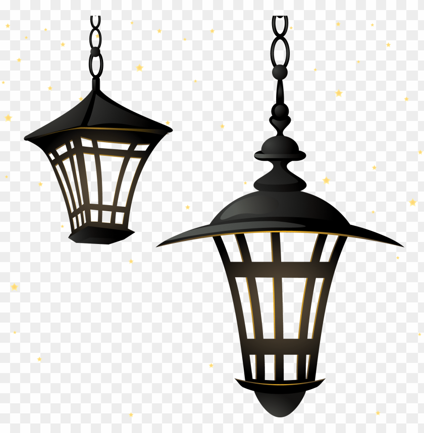 vector street light lamp chandelier lighting retro - vector lampion ramadhan PNG image with transparent background@toppng.com