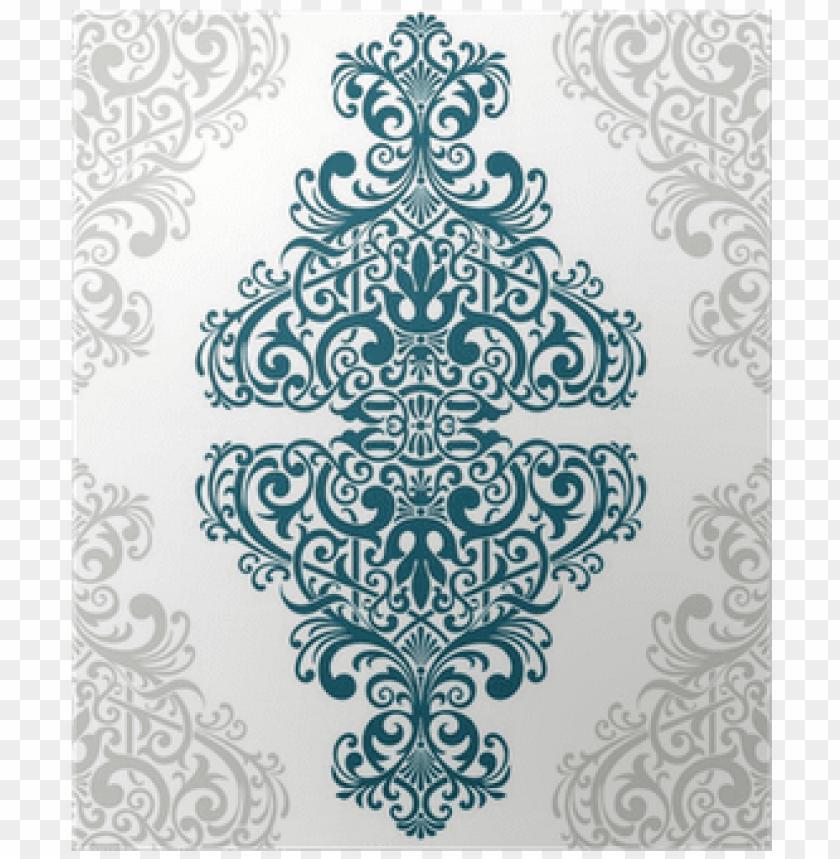 free PNG vector vintage ornate border frame card cover poster - arabic pattern card PNG image with transparent background PNG images transparent