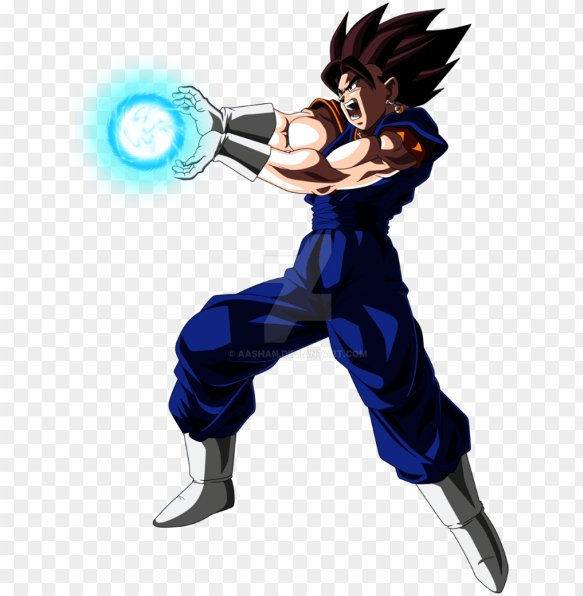 free PNG vegito kamehameha pose shooting colored with ball by - vegito blue kamehameha PNG image with transparent background PNG images transparent