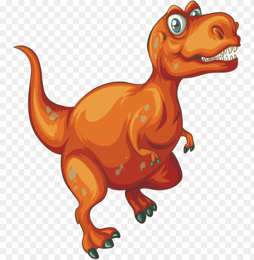 Velociraptor Tyrannosaurus Rex Triceratops Stegosaurus Dinosaur Cartoon Png Image With Transparent Background Toppng