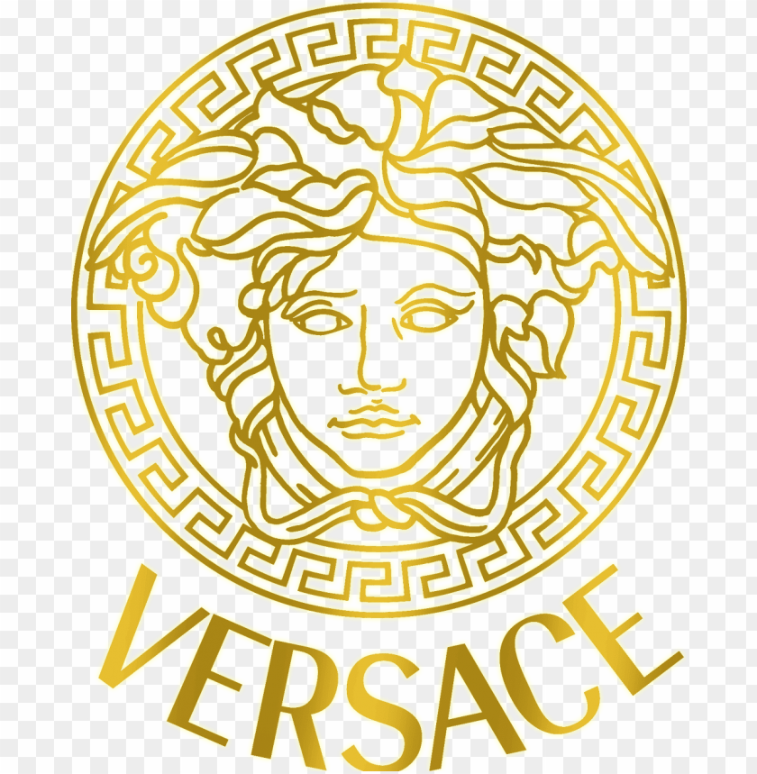 Versace Logo Png Versace Logo Gold Png Image With Transparent