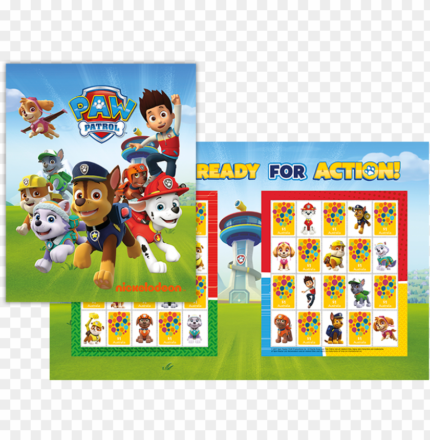 free PNG viacom consumer products has extended the reach of - paw patrol 2018 calendar - square paw patrol PNG image with transparent background PNG images transparent