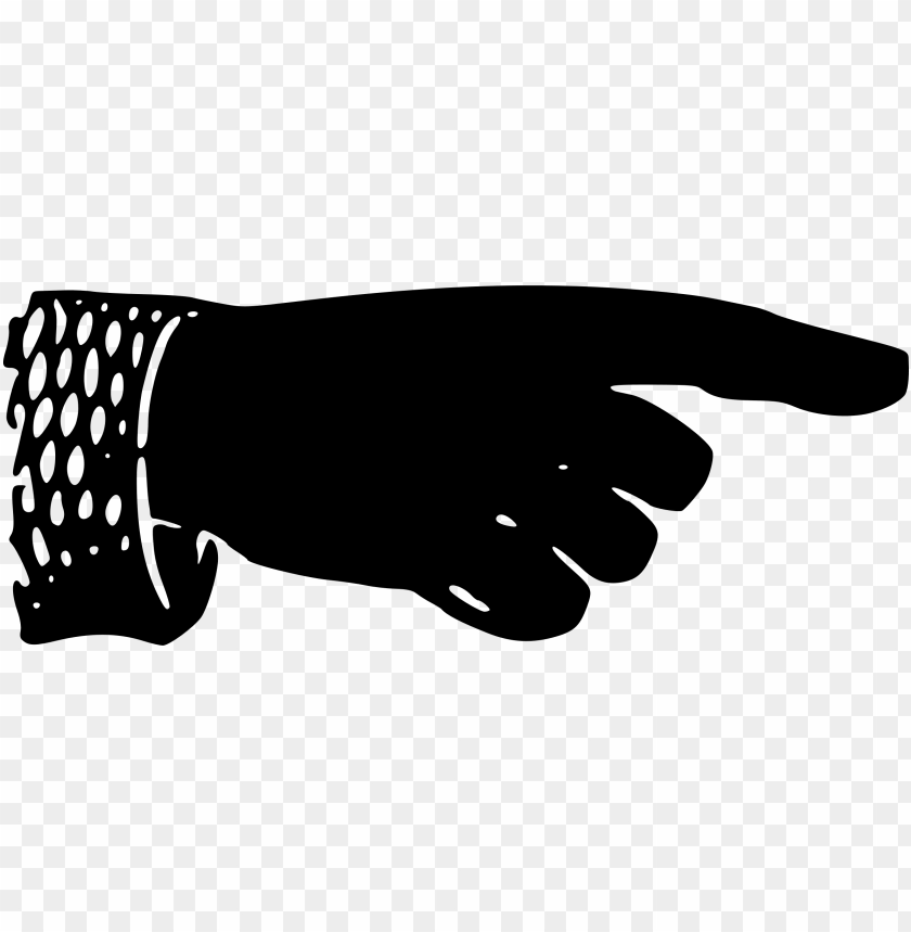 free PNG victorian clipart hand pointing - vintage pointing hand PNG image with transparent background PNG images transparent