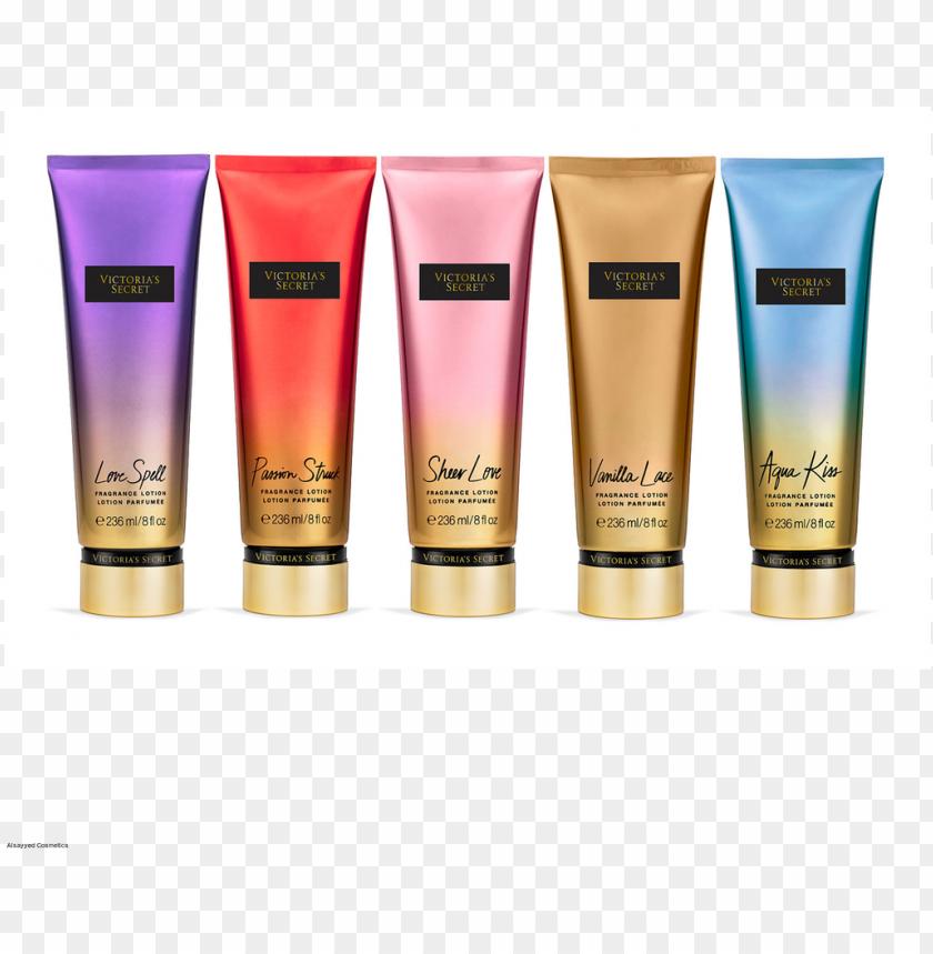 free PNG victoria's secret fragrance lotion parfume - cremes da victoria secret PNG image with transparent background PNG images transparent