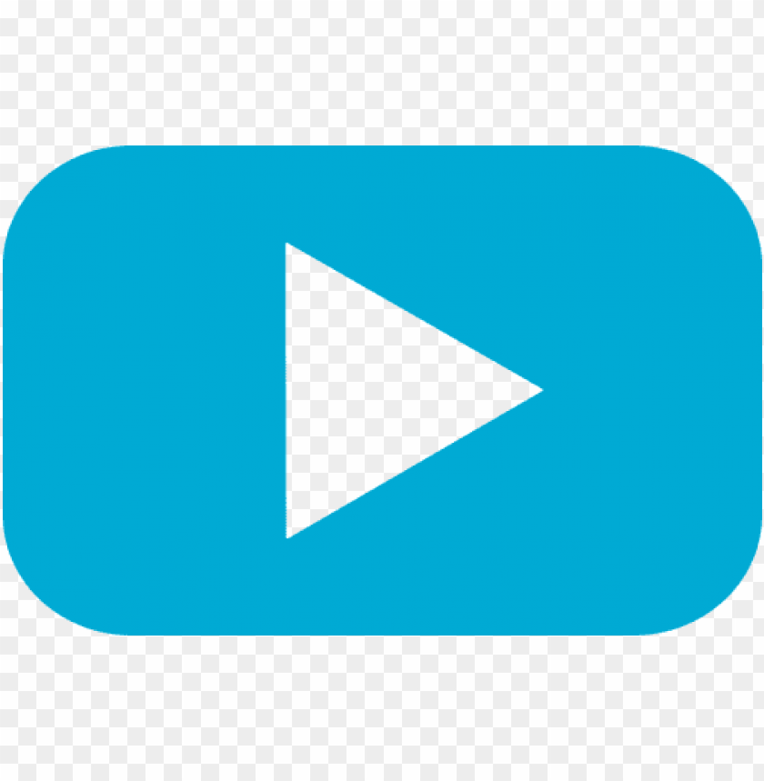 free PNG videos,multimedia,social networks,social - light blue play butto PNG image with transparent background PNG images transparent