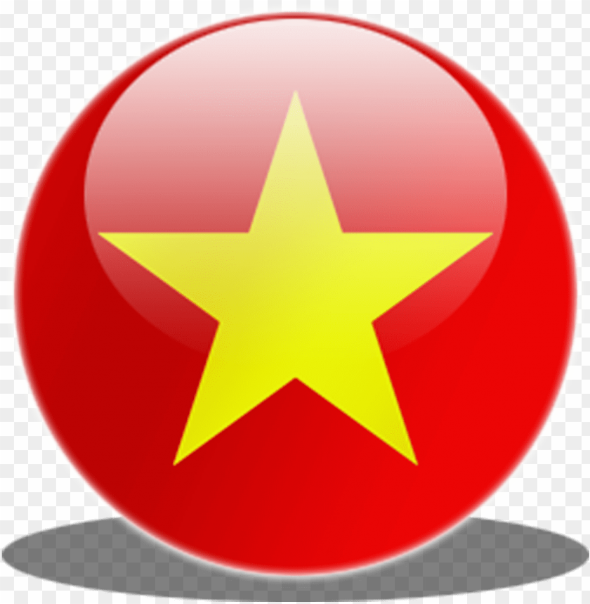 Vietnam Flag Circle Icon Vietnam Flag Flags Of The Vietnam Flag Ico Png Image With Transparent Background Toppng