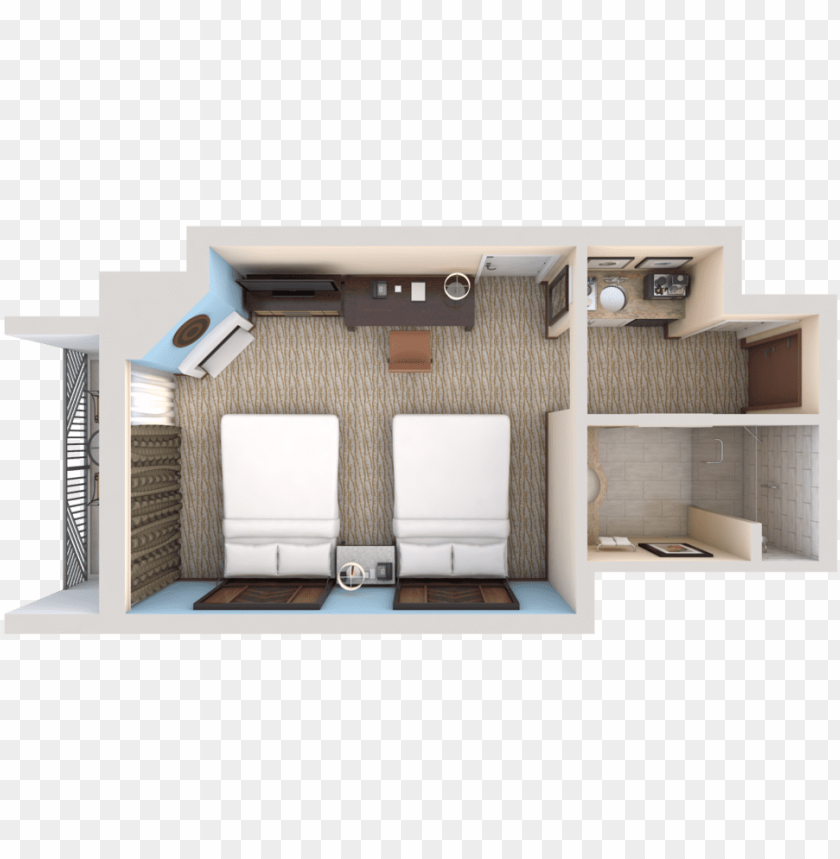View 3d Floor Plans Fireplace Top View Png Image With Transparent Background Toppng
