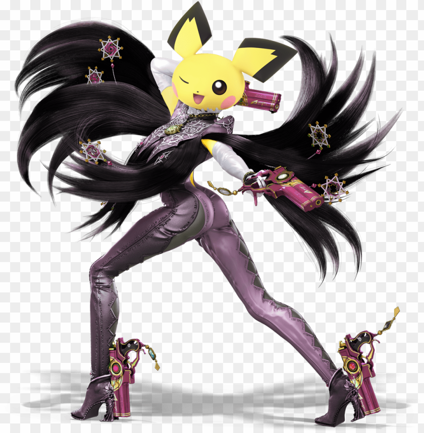 View Bayonecchu Super Smash Bros Ultimate Render Png