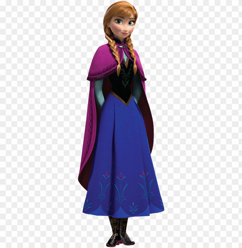 free PNG view full size - disney frozen anna cardboard cutout PNG image with transparent background PNG images transparent