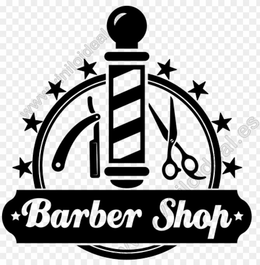 free PNG vinilo decorativo adhesivo barber shop,vinilos para - logos para barber sho PNG image with transparent background PNG images transparent
