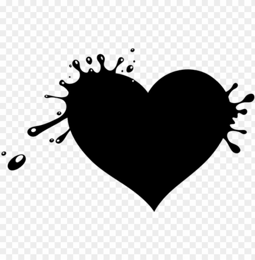 free PNG vinilo decorativo corazón manchas de pintura - corazon de pintura PNG image with transparent background PNG images transparent