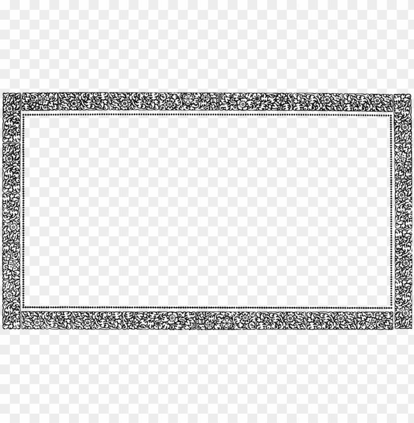 free PNG vintage border frame png pic - frame border PNG image with transparent background PNG images transparent