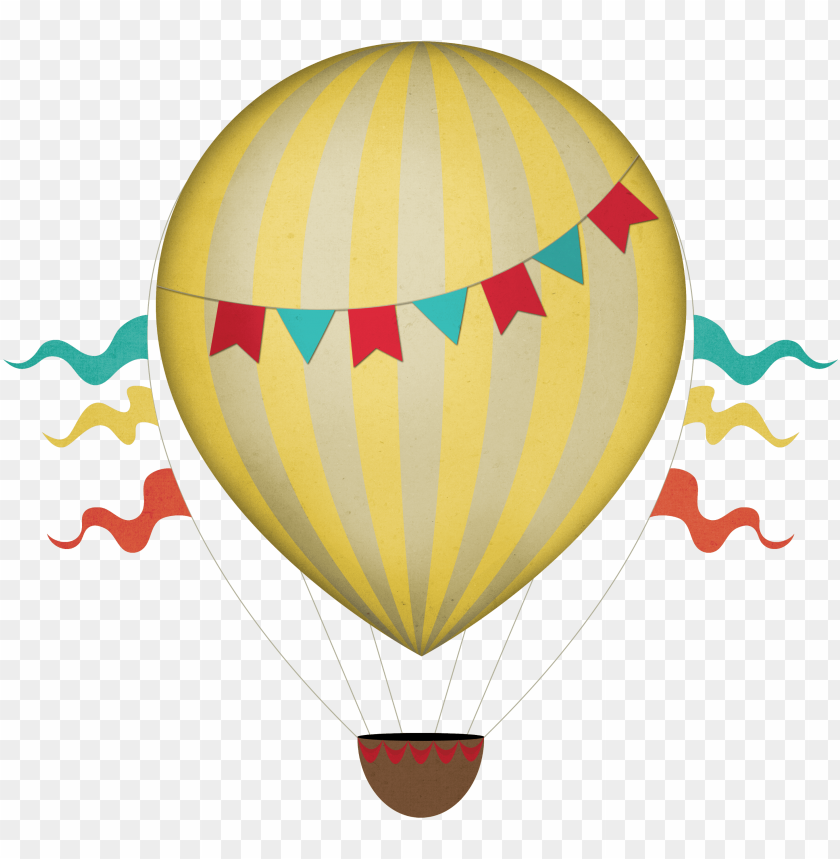 free PNG vintage clipart transparent png stickpng download - hot air balloon PNG image with transparent background PNG images transparent