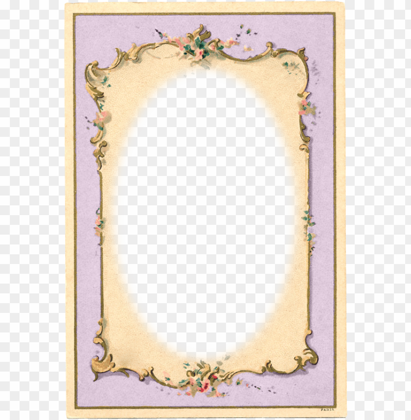 free PNG vintage frame ~ zibi vintage scrap - vintage tea party background PNG image with transparent background PNG images transparent