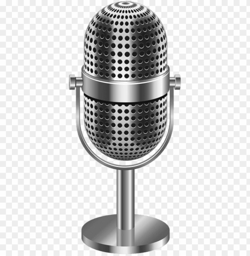 free PNG Download vintage microphone transparent png images background PNG images transparent