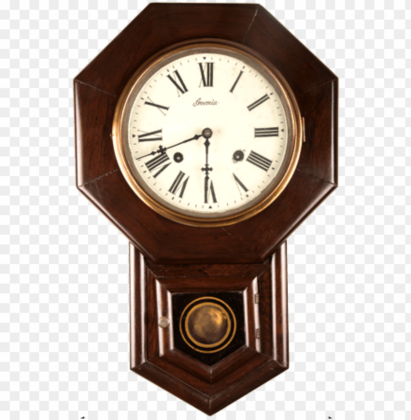 free PNG vintage old wall clock png - old wall clock PNG image with transparent background PNG images transparent