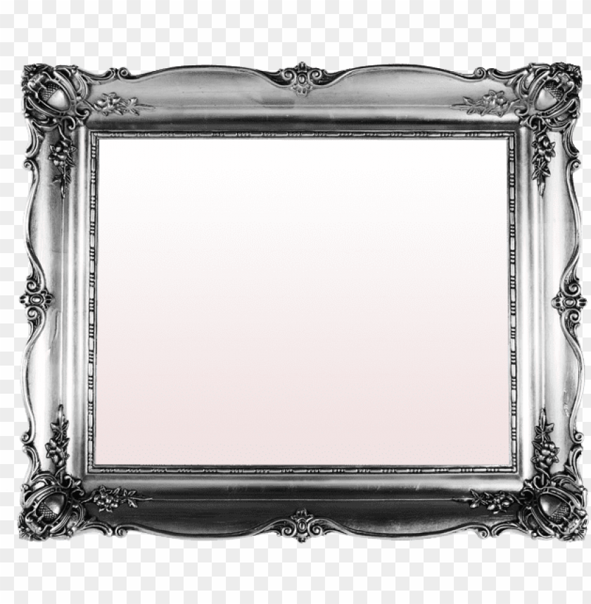 free PNG vintage silver frame clipart picture frames vintage - vintage silver picture frame transparent PNG image with transparent background PNG images transparent