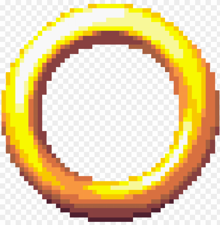 Vintagesonic1 Sonic Ring Gif Png Image With Transparent Background Toppng