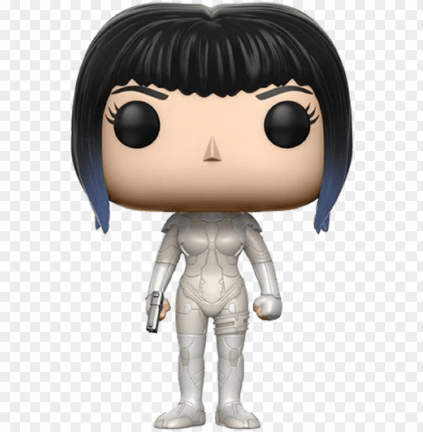 free PNG vinyl ghost in the shell - funko pop ghost in the shell major PNG image with transparent background PNG images transparent