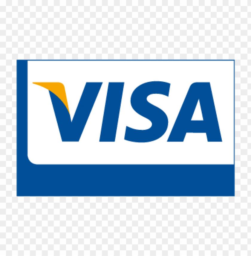 visa card vector logo download free TOPpng