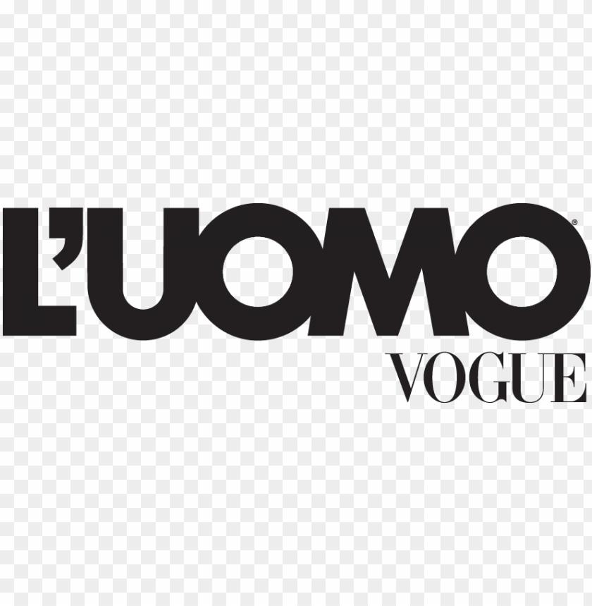 free PNG vogue logo png - l uomo vogue logo PNG image with transparent background PNG images transparent