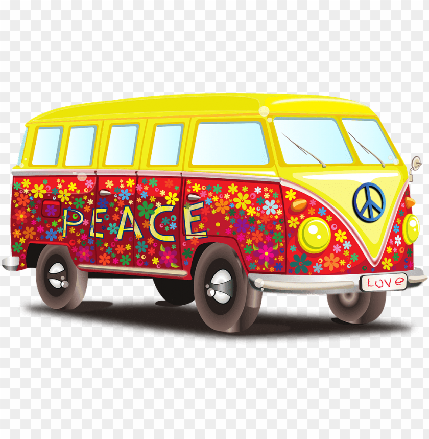 free PNG Download volkswagen peace mobile home png images background PNG images transparent