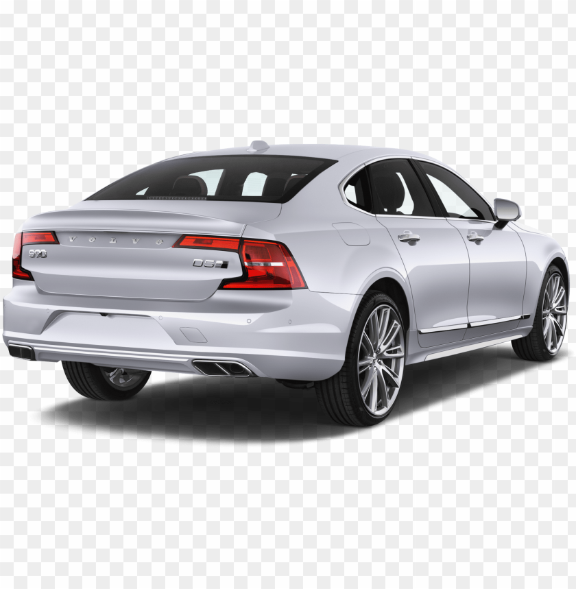 free PNG volvo s90 company car side rear view - car rear view PNG image with transparent background PNG images transparent