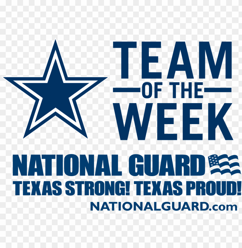 free PNG vote @dallascowboys @texasguard team of the week award - dallas cowboys star PNG image with transparent background PNG images transparent