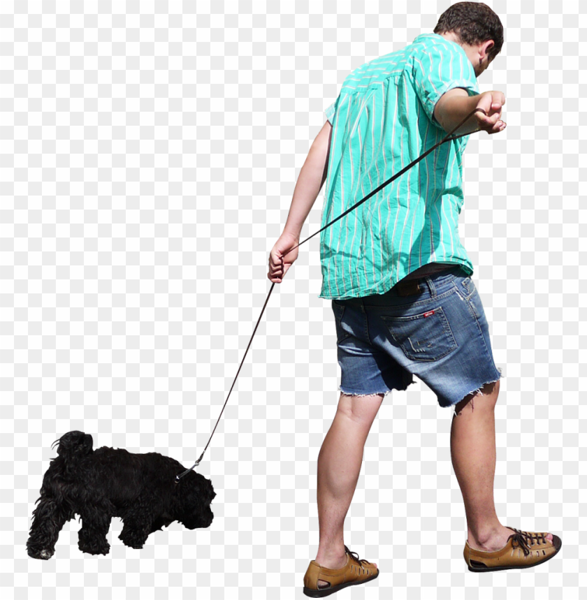 free PNG walking the dog png image - people walking PNG image with transparent background PNG images transparent
