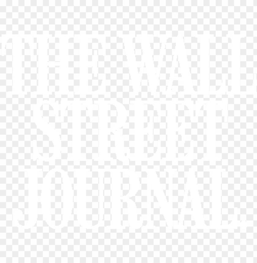 free PNG wall street journal logo white png svg freeuse - wall street journal logo white PNG image with transparent background PNG images transparent