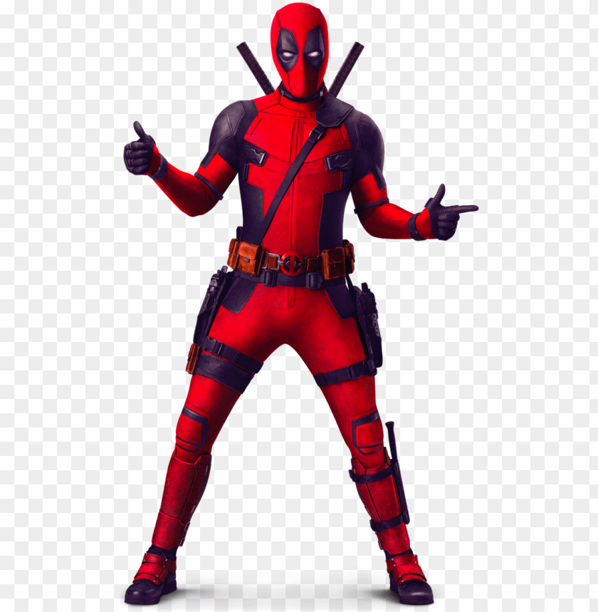 deadpool 2 full body PNG image with