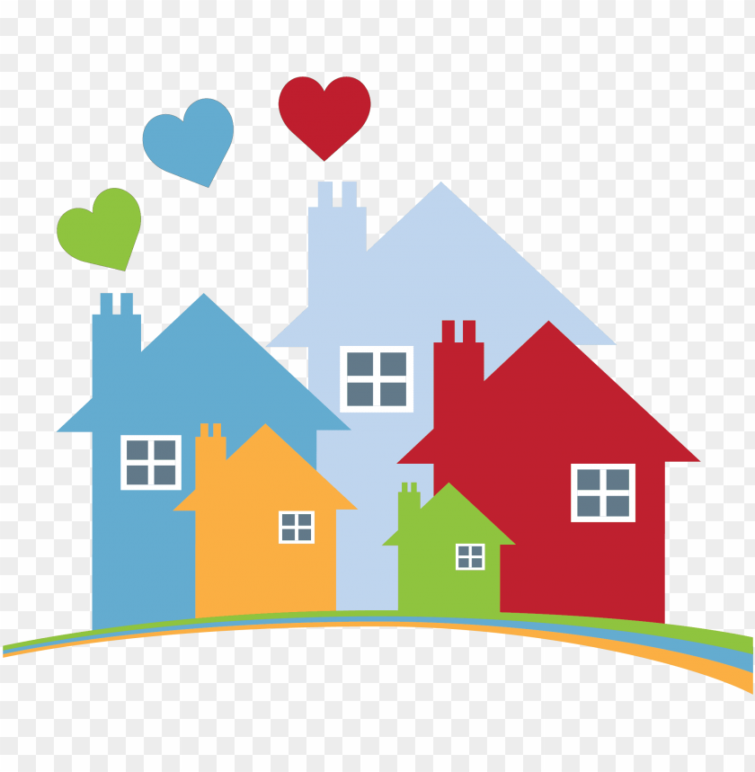 free PNG warm hearts & homes - housing bc PNG image with transparent background PNG images transparent