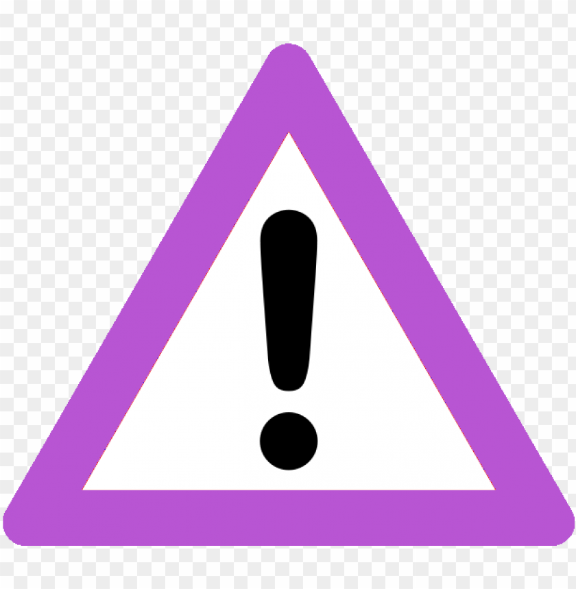 free PNG warning-purple - emergency PNG image with transparent background PNG images transparent
