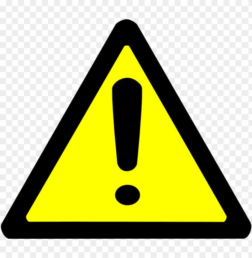 free PNG warning sign PNG image with transparent background PNG images transparent