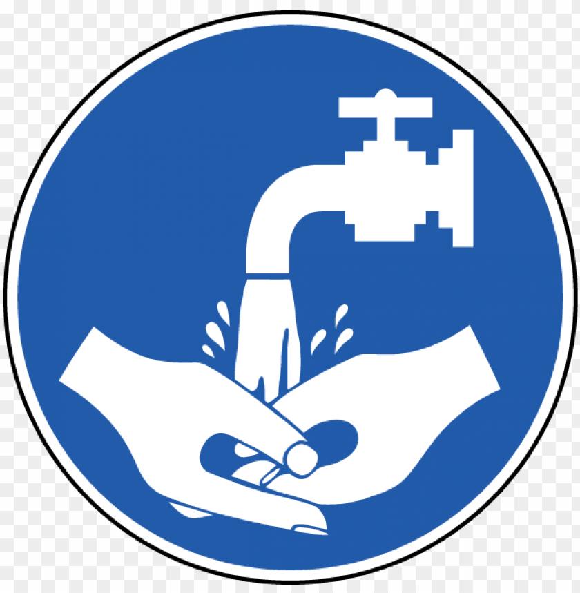 free PNG washing hands symbol wash your hands label j6573 safetysign - hand wash logo PNG image with transparent background PNG images transparent