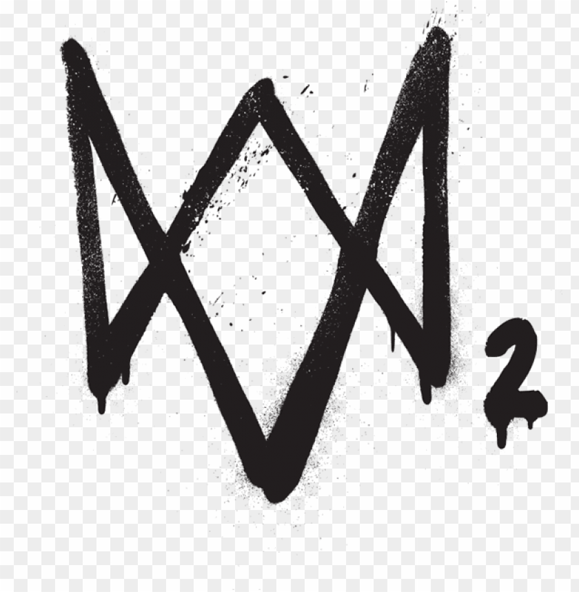free PNG watch dogs - watch dogs 2 logo PNG image with transparent background PNG images transparent
