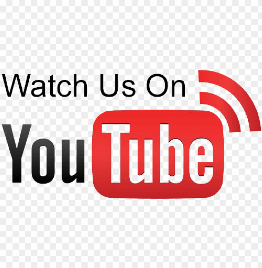 free PNG watch us on youtube - check out our youtube channel PNG image with transparent background PNG images transparent