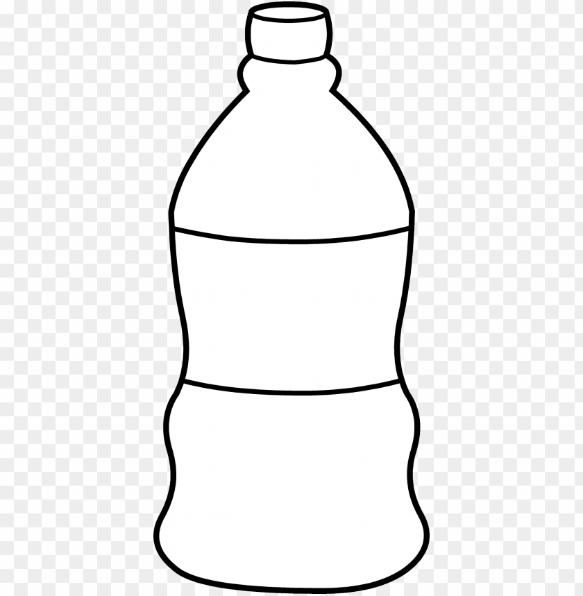 free PNG water bottle coloring page water bottle line art free - water bottle to colour PNG image with transparent background PNG images transparent