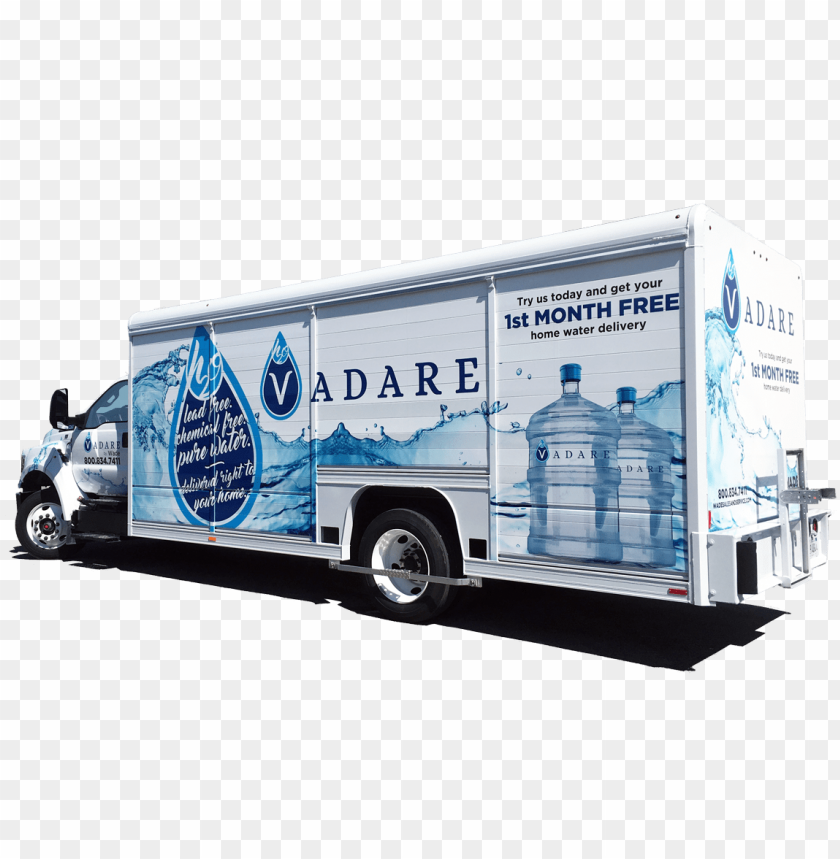free PNG water delivery with vadare h2o wade s service inc - water bottle delivery truck PNG image with transparent background PNG images transparent